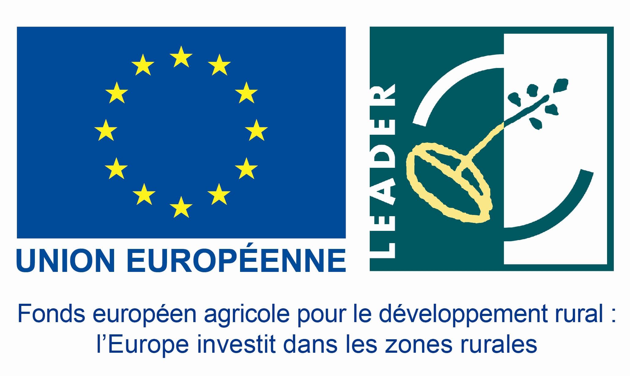 logo du programme LEADER de l'union européenne