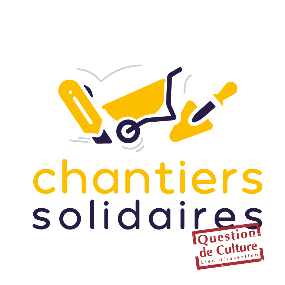 Logo des chantiers solidaires