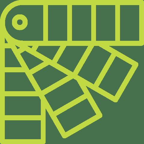 pictogramme de palette